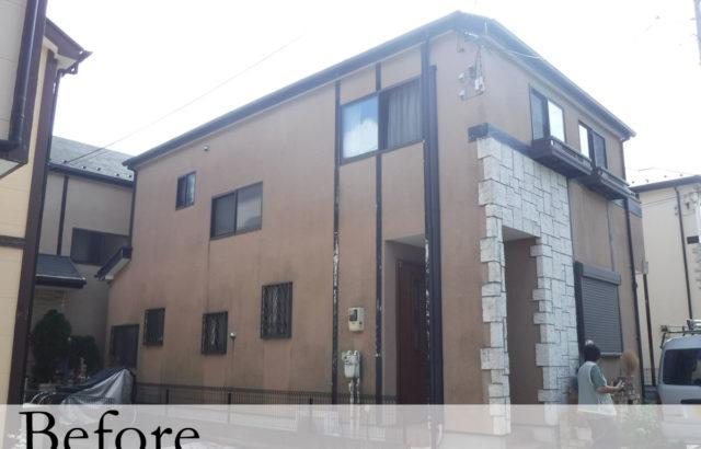 千葉県千葉市稲毛区 K様邸 屋根塗装 外壁塗装