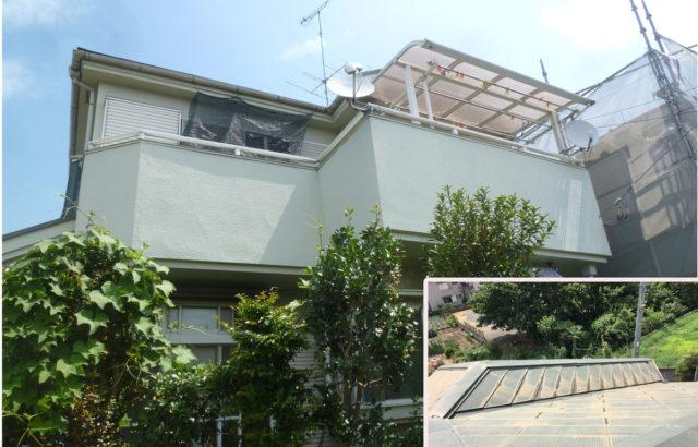 千葉県佐倉市 O様邸 屋根塗装 外壁塗装 棟板金交換