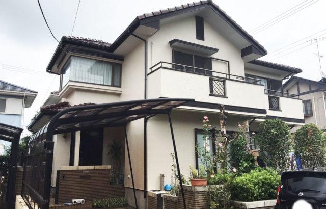 千葉県四街道市 M様邸 屋根塗装 外壁塗装