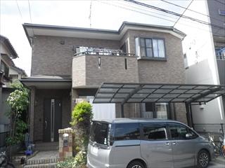 千葉県佐倉市 H様邸 屋根塗装 外壁塗装