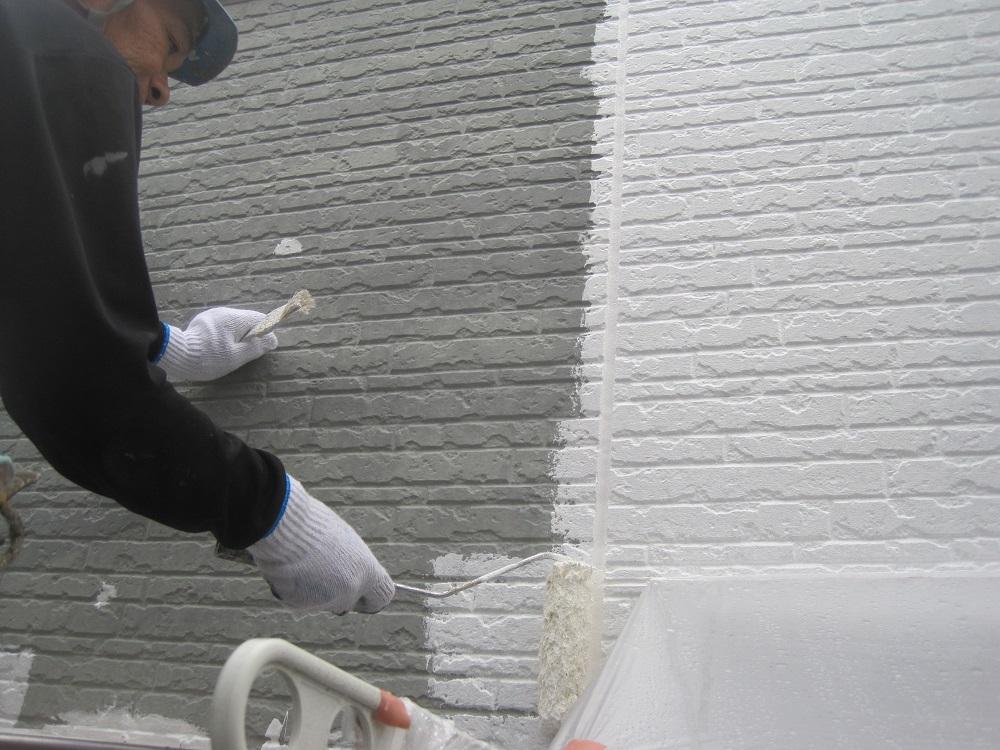 外壁塗装,下塗り