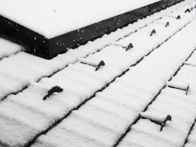 雪止め工事