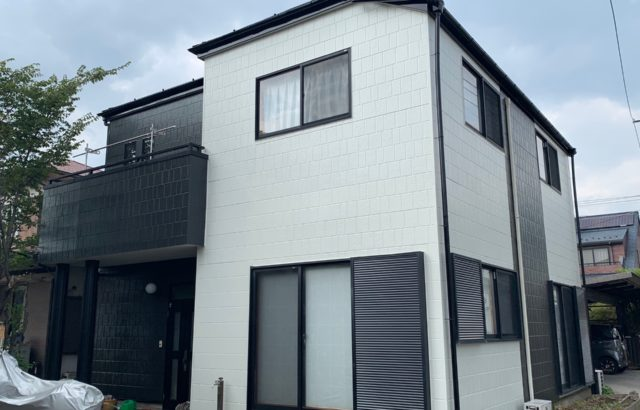 千葉県八千代市 外壁塗装・コーキング取り替え プレミアムシリコン