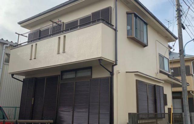 千葉県四街道市 外壁塗装 屋根塗装 シーリング工事 細部塗装 バルコニー防水工事