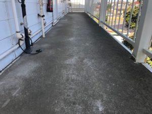 千葉県習志野市 外壁塗装 付帯部塗装 アパート 廊下 防水工事 (3)