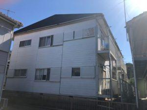 千葉県習志野市 外壁塗装 付帯部塗装 玄関ドア塗装