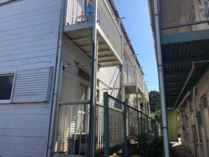 千葉県習志野市 外壁塗装 付帯部塗装 アパート 廊下 防水工事 (1)