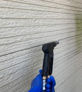 千葉県千葉市緑区 外壁塗装 下地処理 高圧洗浄 塗装工事中の過ごし方 (3)