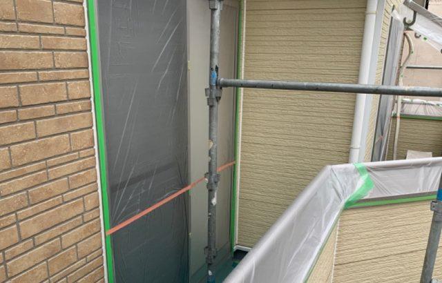 千葉県千葉市緑区 外壁塗装 下地処理 養生 工事期間中の過ごし方 (1)