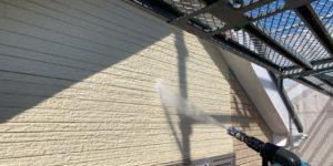 千葉県千葉市緑区 外壁塗装 下地処理 高圧洗浄 塗装工事中の過ごし方 (2)