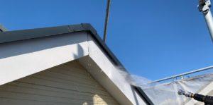 千葉県千葉市緑区 外壁塗装 下地処理 高圧洗浄 塗装工事中の過ごし方 (1)