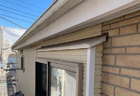 千葉県千葉市緑区 外壁塗装 事前調査 症状 苔・カビ・藻 コーキング劣化 (2)