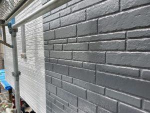 千葉県千葉市緑区 外壁塗装 中塗り・上塗り 完工 (4)