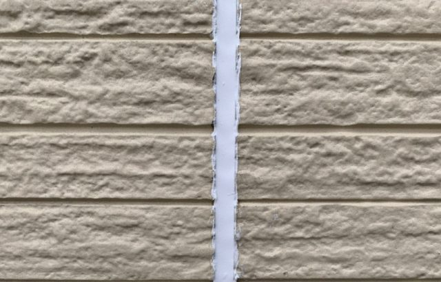 千葉県千葉市緑区 外壁塗装 下地処理 シーリング打ち替え工事 オートンイクシード8