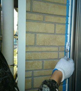 千葉県千葉市緑区 外壁塗装 下地処理 シーリング打ち替え工事 オートンイクシード3