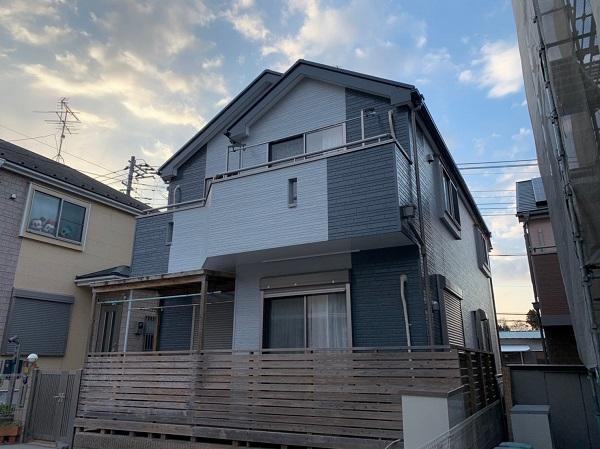 千葉県千葉市緑区 外壁塗装 中塗り・上塗り 完工 (8)