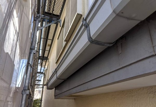 千葉県四街道市 外壁塗装 棟板金工事 雨樋交換 軒樋 (3)
