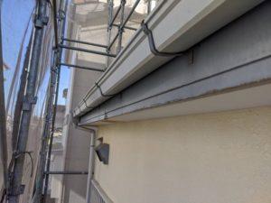 千葉県四街道市 外壁塗装 棟板金工事 雨樋交換 軒樋 (4)