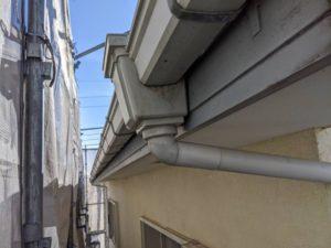 千葉県四街道市 外壁塗装 棟板金工事 雨樋交換 軒樋 (1)