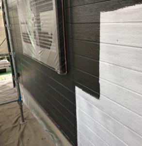 千葉県八千代市 外壁塗装 付帯部塗装 中塗り・上塗り (2)