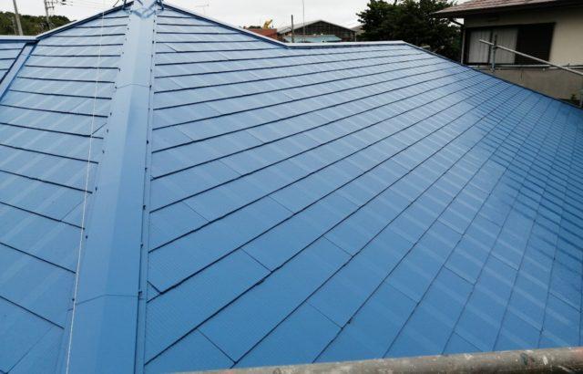 千葉市若葉区 屋根塗装 シーリング工事 板金交換