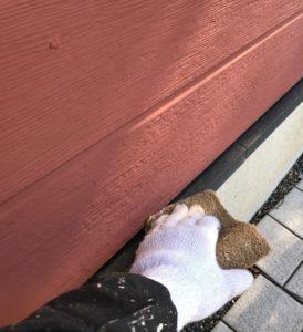 千葉県八千代市 外壁塗装 付帯部塗装 ケレン作業 水切り シャッター (1)