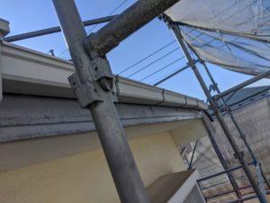 千葉県四街道市 外壁塗装 棟板金工事 雨樋交換 軒樋 (2)