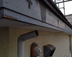 千葉県四街道市 外壁塗装 棟板金工事 雨樋交換 軒樋撤去 (3)