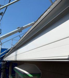 千葉県八千代市 外壁塗装 付帯部塗装 雨樋交換 破風板 (4)