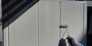 千葉県八千代市 外壁塗装 付帯部塗装 雨樋交換 雨戸の塗装 (4)