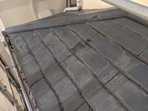 千葉県四街道市 外壁塗装 棟板金工事 雨樋交換 既存棟板金撤去、清掃 (2)