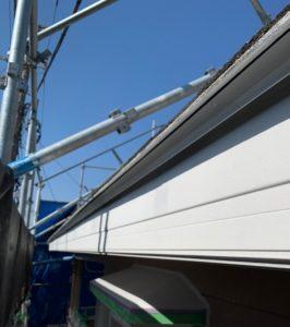 千葉県八千代市 外壁塗装 付帯部塗装 雨樋交換 破風板 (6)