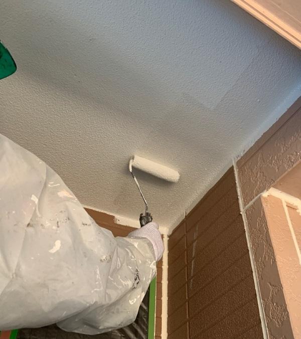 千葉県八千代市 外壁塗装 付帯部塗装 雨樋交換 軒天 (5)