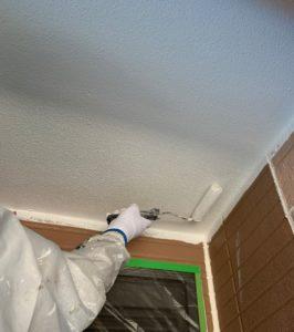 千葉県八千代市 外壁塗装 付帯部塗装 雨樋交換 軒天 (2)