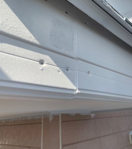 千葉県八千代市 外壁塗装 付帯部塗装 雨樋交換 破風板 (5)