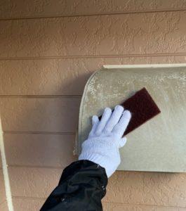千葉県八千代市 外壁塗装 付帯部塗装 雨樋交換 (2)