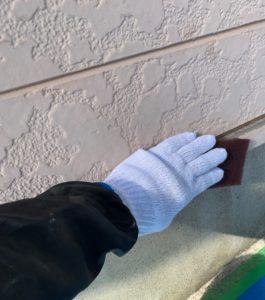 千葉県八千代市 外壁塗装 付帯部塗装 雨樋交換 水切り塗装 (3)