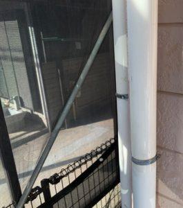 千葉県八千代市 外壁塗装 付帯部塗装 雨樋交換 竪樋塗装 (3)