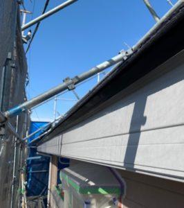 千葉県八千代市 外壁塗装 付帯部塗装 雨樋交換 破風板 (2)