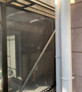 千葉県八千代市 外壁塗装 付帯部塗装 雨樋交換 竪樋塗装 (5)