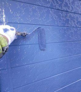 千葉県八千代市 外壁塗装 付帯部塗装 雨樋交換 外壁中塗り・上塗り 日本ペイント パーフェクトトップ ラジカル制御式 (6)