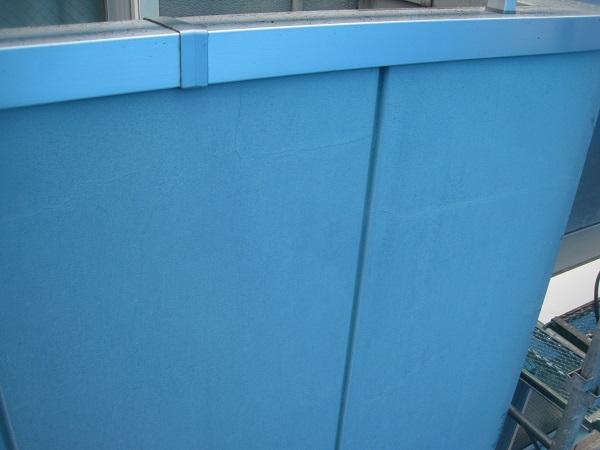 千葉県八千代市 外壁塗装 工場 現場調査 クラック チョーキング現象