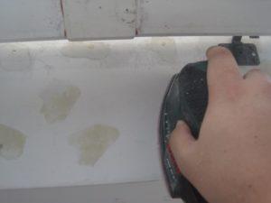 千葉県八千代市 外壁塗装 工場 ケレン作業 ディスクサンダー