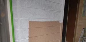 千葉県八千代市 外壁塗装 付帯部塗装 雨樋交換 外壁下塗り2回 (1)