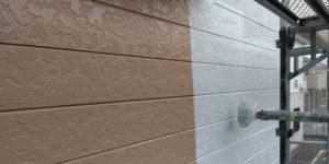 千葉県八千代市 外壁塗装 付帯部塗装 雨樋交換 外壁下塗り2回 (2)