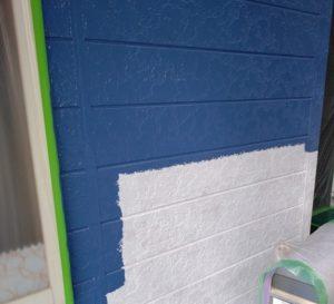 千葉県八千代市 外壁塗装 付帯部塗装 雨樋交換 外壁中塗り・上塗り 日本ペイント パーフェクトトップ ラジカル制御式 (1)