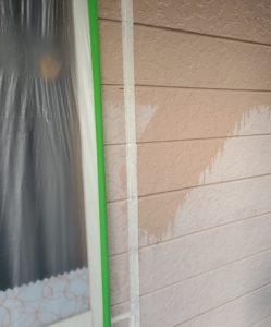 千葉県八千代市 外壁塗装 付帯部塗装 雨樋交換 外壁下塗り2回 (5)