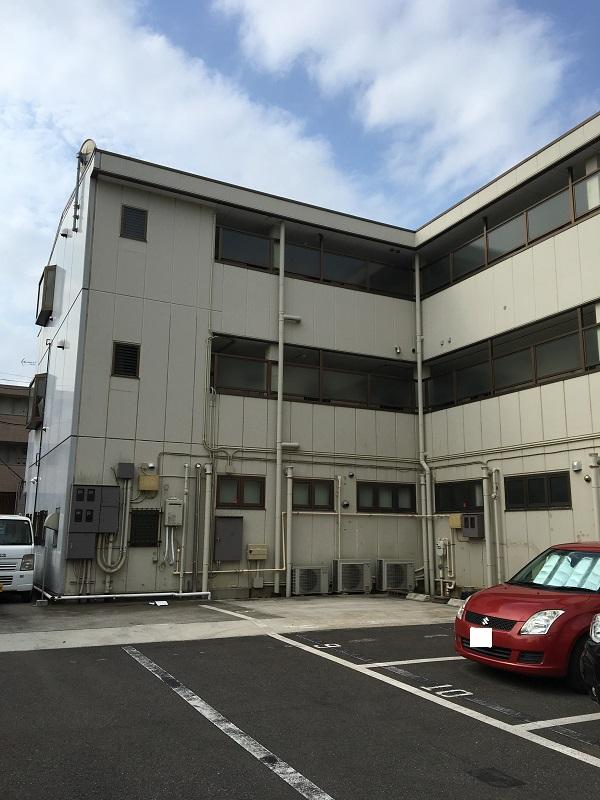千葉県千葉市美浜区 外壁塗装 集合住宅 現場調査 シーリング(コーキング)の劣化