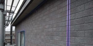 千葉県千葉市若葉区 A様邸 外壁塗装・屋根塗装・付帯部塗装 シーリング工事③ 養生・プライマー塗布・シーリング材充填 (1)
