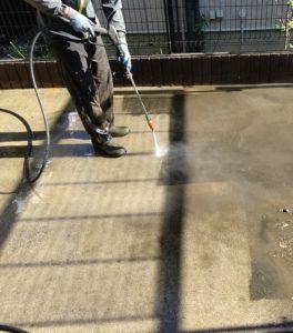 千葉県千葉市若葉区 A様邸 外壁塗装・屋根塗装・付帯部塗装 下地処理 高圧洗浄 (2)